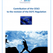 Contribution of the CESCI to the revision of the EGTC Regulation
