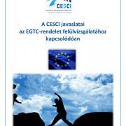 A CESCI javaslatai az EGTC-rendelet felülvizsgálatához kapcsolódóan