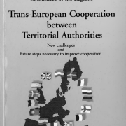 Trans-European Cooperation between Territorial Authorities - New challenges and future steps necessary to improve cooperation