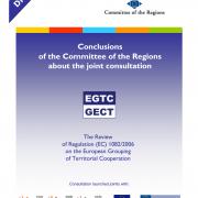 Konzultáció - Az EGTC (európai területi együttműködési csoportosulás)-rendelet felülvizsgálata