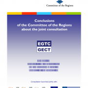 Consultation - The review of the EGTC Regulation (European Grouping for Territorial Cooperation)