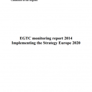 EGTC monitoring report 2014 - Implementing the Strategy Europe 2020