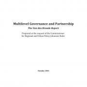 Multilevel Governance and Partnership - The Van den Brande Report