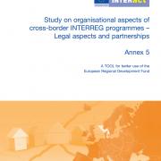 Study on organisational aspects of cross-border INTERREG programmes – Legal aspects and partnerships - Annex 5
