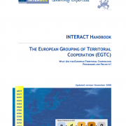 INTERACT HANDBOOK - The European Grouping of Territorial Cooperation (EGTC) - What use for european territorial cooperation programmes and projects?