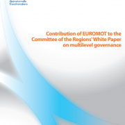 Contribution of EUROMOT to the Committee of the Regions' White Paper on multilevel governance