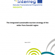 The integrated sustainable tourism strategy of the wider Pons Danubii region