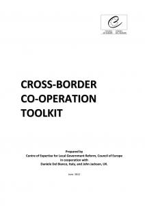 CROSS-BORDER CO-OPERATION TOOLKIT