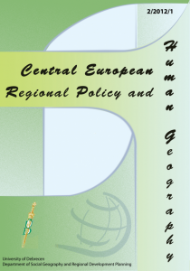 Central European Regional Policy and Human Geography